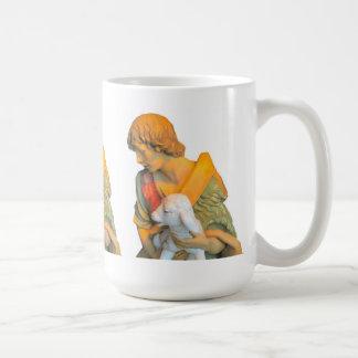 羊飼いの男の子 コーヒーマグカップ