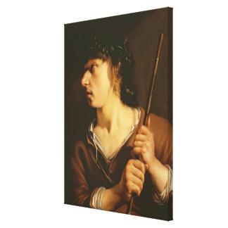 羊飼い1635年 キャンバスプリント