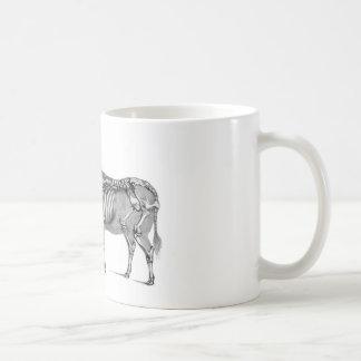 羊飼い-骨組ウシおよびヤギ コーヒーマグカップ
