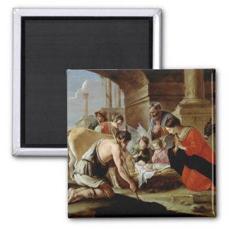 羊飼い、c.1638の崇敬 マグネット