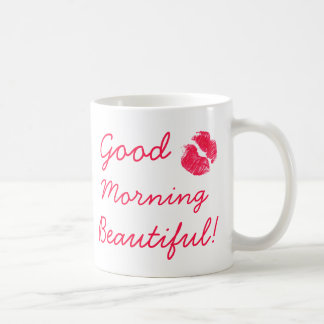 美しいおはよう コーヒーマグカップ