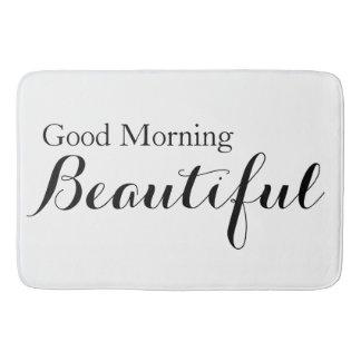 美しいおはよう バスマット