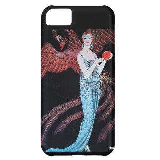 美しいおよびフェニックスのファッション・デザイナーは芸術家を構成します iPhone5Cケース