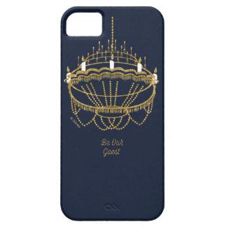 美しいおよび獣|のシャンデリア-私達のゲストがあって下さい iPhone SE/5/5s ケース