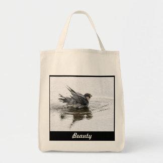 美しいのバッグかトートを浸すこと トートバッグ