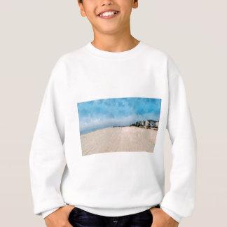 美しいのヴァージニアのビーチを空けます スウェットシャツ