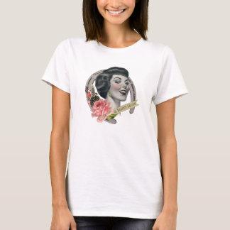 美しいの大広間の女性のTシャツの白 Tシャツ