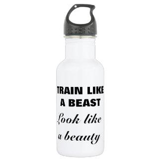 美しいの水差しのように獣の見えのような列車 ウォーターボトル