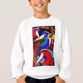 美しいの白鷺 スウェットシャツ
