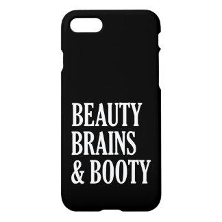 美しいの頭脳および利得のおもしろいな電話箱 iPhone 8/7 ケース