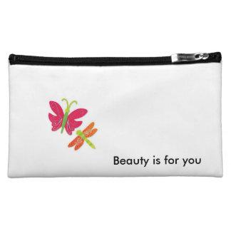 美しいはあなたのためです コスメティックバッグ
