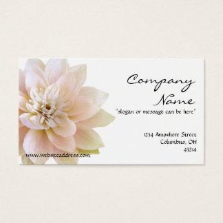 美しいはすの花の名刺 名刺