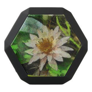 美しいはすの花 ブラックBluetoothスピーカー