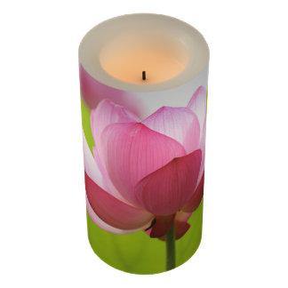 美しいはす蝋燭 LEDキャンドル