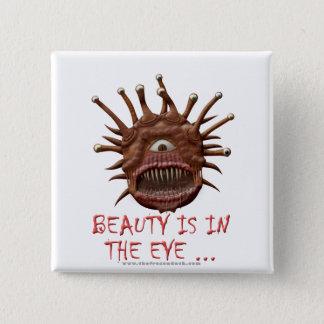 美しいは目に…あります 缶バッジ