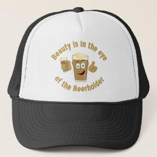 美しいは目の帽子にあります キャップ
