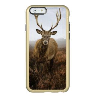 美しいアカシカの雄鹿が付いている秋の秋 INCIPIO FEATHER SHINE iPhone 6ケース