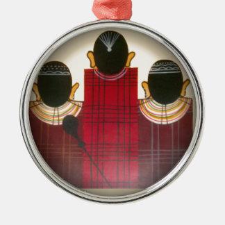 美しいアフリカの民族の種族のマサイ語Ornaments.pn メタルオーナメント