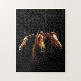 美しいアラビアの馬のパズル ジグソーパズル