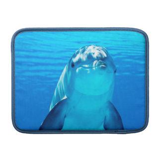 美しいイルカの水中海洋生物 MacBook スリーブ