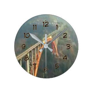 美しいインド-そう誘惑している招待状 ラウンド壁時計