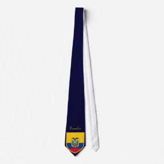 美しいエクアドル共和国の旗 ネクタイ