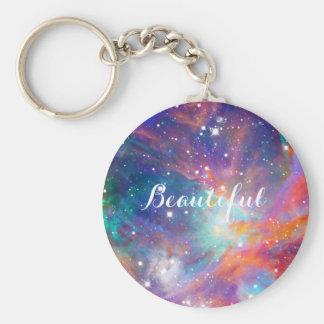 """""""美しいオリオンの素晴らしい星雲の輝くな星"""" キーホルダー"""