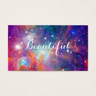 """""""美しいオリオンの素晴らしい星雲の輝くな星"""" 名刺"""