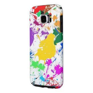 美しいカラフルの汚れの芸術 SAMSUNG GALAXY S6 ケース