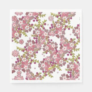 美しいガラス花、 スタンダードランチョンナプキン