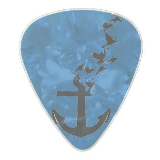 美しいギターの一突き パールセルロイド ギターピック