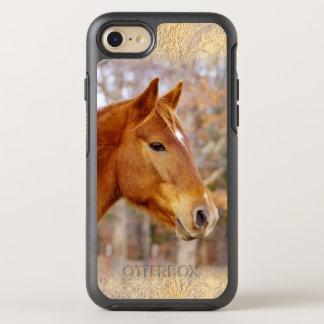 美しいクリの馬のiPhone 6/6sのオッターボックス オッターボックスシンメトリーiPhone 8/7 ケース
