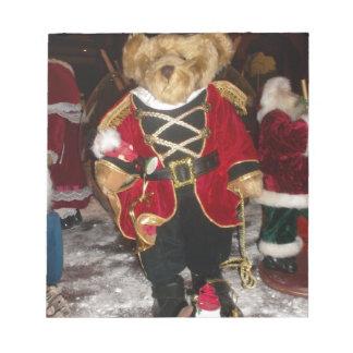 美しいクリスマスのメモ帳 ノートパッド