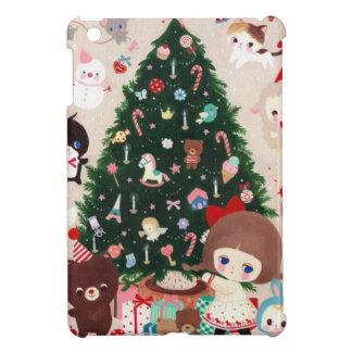 美しいクリスマスを持って下さい iPad MINIケース