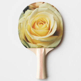 美しいクリームは上がりました 卓球ラケット