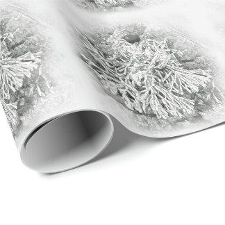 美しいコラリンの藻によってタイルを張られる包装紙 ラッピングペーパー
