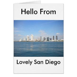 美しいサンディエゴ カード