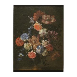 美しいジーンBaptisteの花花束の絵画 ウッドウォールアート