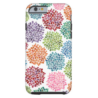 美しいダリアによってはiPhone 6が開花します iPhone 6 タフケース