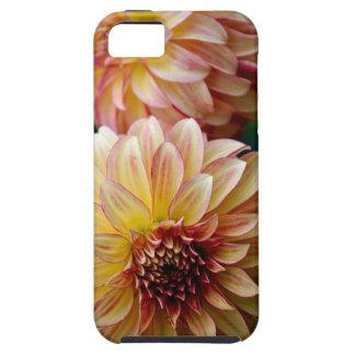 美しいダリアの花のプリント iPhone 5 カバー