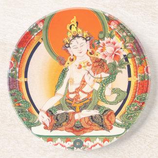 美しいチベットの仏教の芸術 コースター