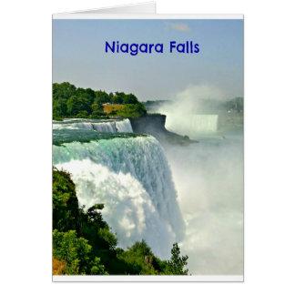 美しいナイアガラ・フォールズニューヨーク カード