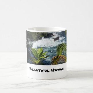 美しいハワイ コーヒーマグカップ