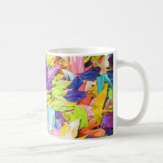 美しいハンドメイドホイルの紙の鳥 コーヒーマグカップ