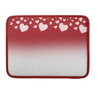 美しいハート- Macbookのプロ13袖 MacBook Proスリーブ