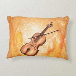 美しいバイオリン アクセントクッション