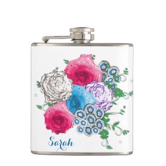 美しいバラの花花束 フラスク