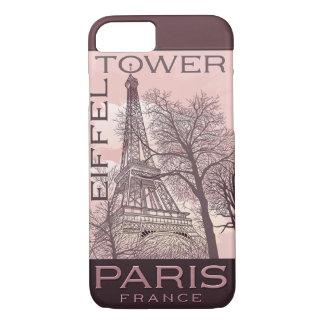美しいパリのテーマの穹窖のiPhone 7の場合 iPhone 8/7ケース