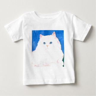 美しいヒマラヤ子ネコ ベビーTシャツ