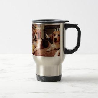 美しいビーグル犬 トラベルマグ